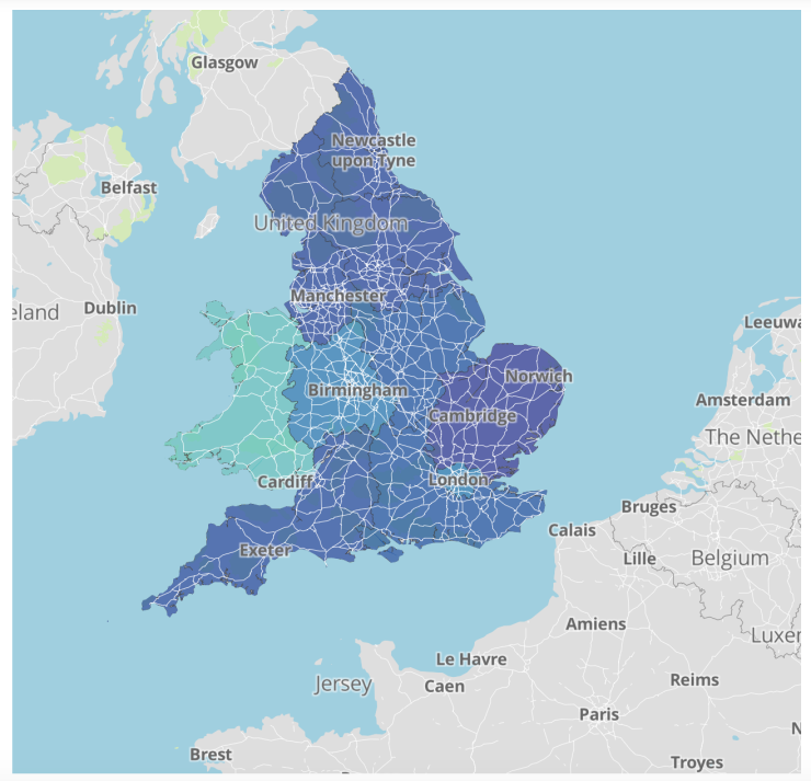UK Regions MapBox Choropleth – ALL YOUR BASE ARE BELONG TO US